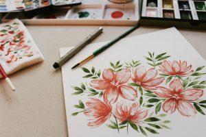 Hand-drawn renderings